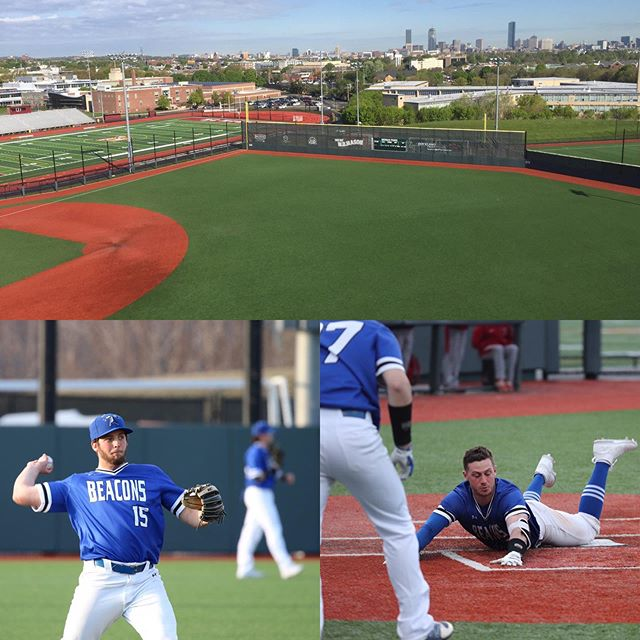 Take a #studybreak tomorrow at 11 a.m. and cheer on @beaconsbaseball at Monan Park! The @umassbeacons are hosting the NCAA Regional. Tickets are $5. #beaconstrong #bleedblue #umbeinvolved
